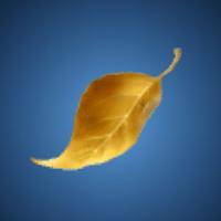 長寿の葉のイラスト