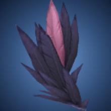 魅惑の羽根のイラスト