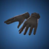 決意の手袋のイラスト