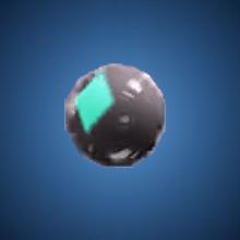 博奕のボールのイラスト
