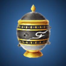 要塞の壺のイラスト