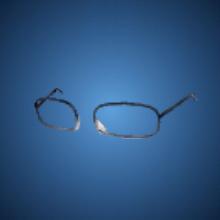 戒めの眼鏡のイラスト