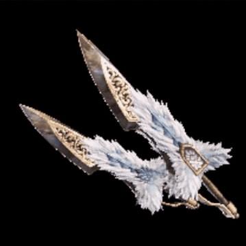 皇金の双剣・飛雷