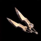 皇金の双剣・氷