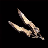 皇金の双剣・龍