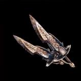 皇金の双剣・黒甲