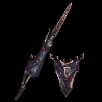 皇金の槍・屍套