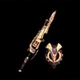 皇金の銃槍・麻痺
