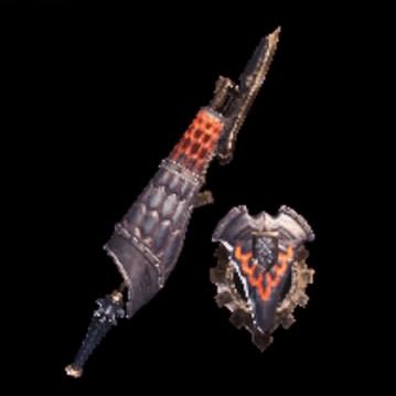 皇金の銃槍・爆鱗