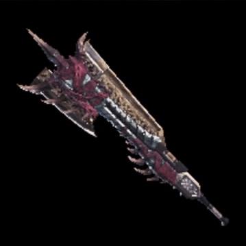 皇金の剣斧・屍套