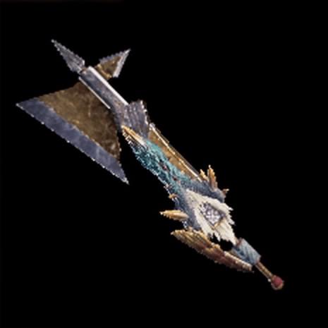 迅雷の断裂斧Ⅱ