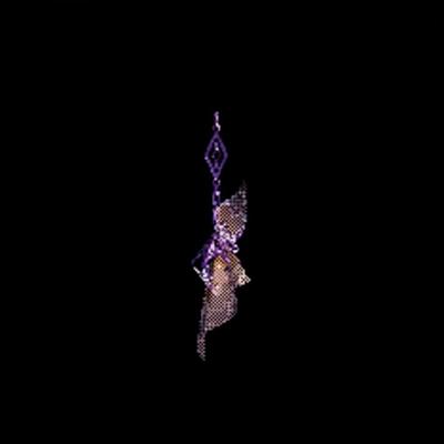 大感謝の銅飾・紫