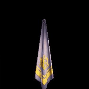 金章のスカーフ・白