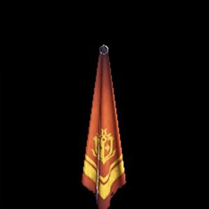 金章のスカーフ・橙