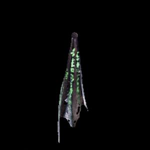 深淵の龍骸布・緑