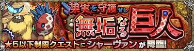 シャーヴァン究極/星5制限バナー