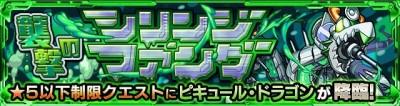 ピキュールドラゴン究極/星5制限バナー