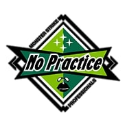 練習不足。