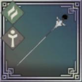 一輪挿の杖の画像