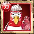 赤盗人ペンギン