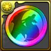 イベントメダル虹のアイコン