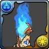青の石柱のアイコン