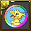 クリスタルメダル虹のアイコン