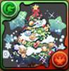 クリスマスツリーのアイコン