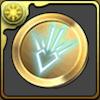 竜の紋章メダル【金】