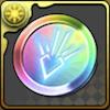 竜の紋章メダル【虹】