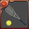 真田のテニスラケットのアイコン
