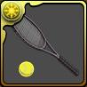 日吉のテニスラケットのアイコン