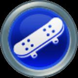 スケートボードのアイコン