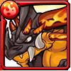 火炎竜フレアドラゴンアイコン