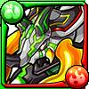 翠焔爆晶獣ペリドットアイコン