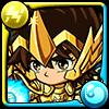 天馬星座の星矢黄金聖衣アイコン