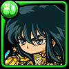 龍星座の紫龍黄金聖衣アイコン