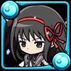 黒翼の魔法少女暁美ほむらアイコン