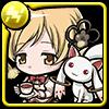 紅茶少女と魔法の使者マミ&キュゥべえアイコン