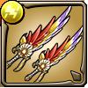 輝彩鳥の雷双剣アイコン