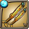 秋刀魚の黄金双剣アイコン