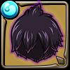 黒魔道士ゼレフの髪型アイコン