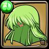 不老不死の魔女C.C.の髪型アイコン