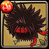 惡一文字の髪型アイコン