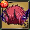 鬼人族の侍大将ベニマルの髪型アイコン