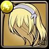 剣姫アイズの髪型アイコン