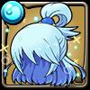 女神アクアの髪型アイコン