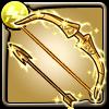 黄金聖衣射手座の弓アイコン
