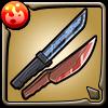 ヘスティアナイフ&牛若丸アイコン
