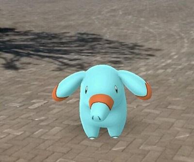 ゴマゾウのAR画像